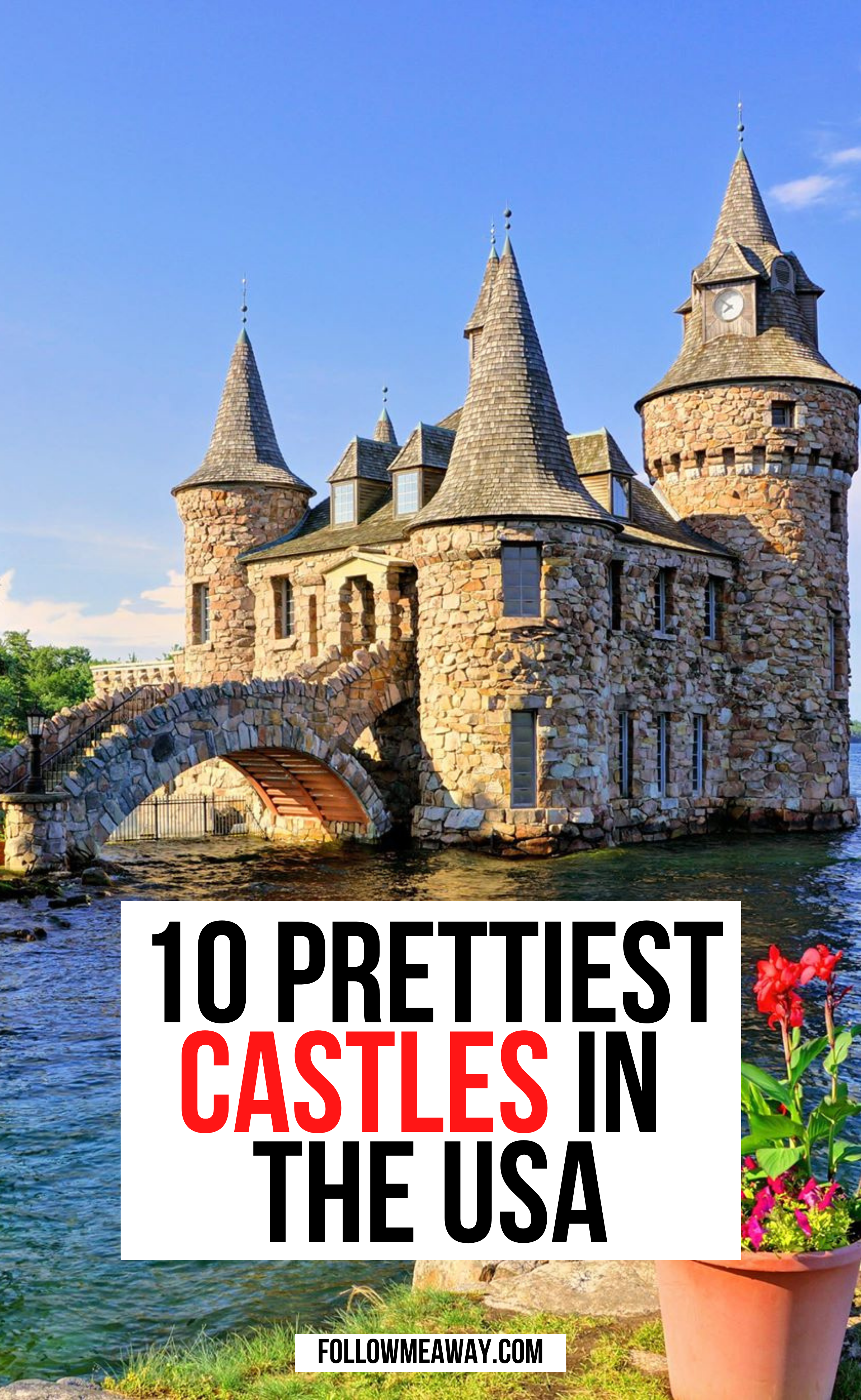10 Fairytale Castles In America | fairytale castles in the US | american travel guide | cutest stops in America | places to go in America | what to see in America | beautiful destinations in America | US travel destinations | beautiful locations in America | cutest castles in America #traveltips #travelingAmerican #americatravel