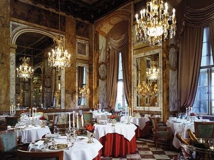 The De Crillon is the most luxurious and opulent hotel in Paris in a superb location right on the Place de la Concorde.