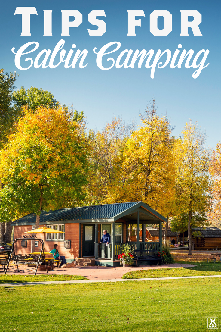 Camping Checklist Tips For Cabin From KOA