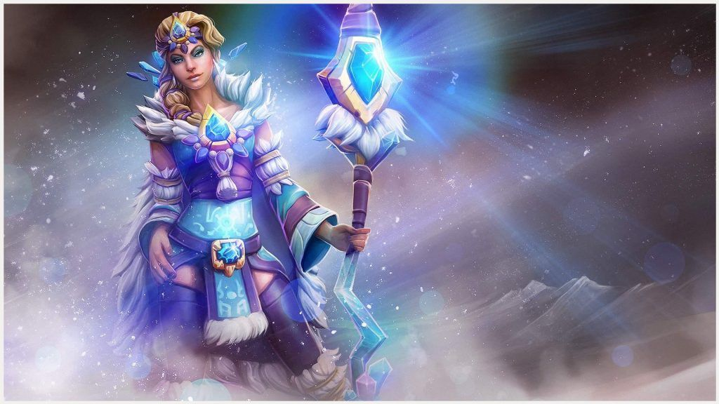 Crystal Maiden Dota 2 Wallpaper Crystal Maiden Dota 2 Wallpaper