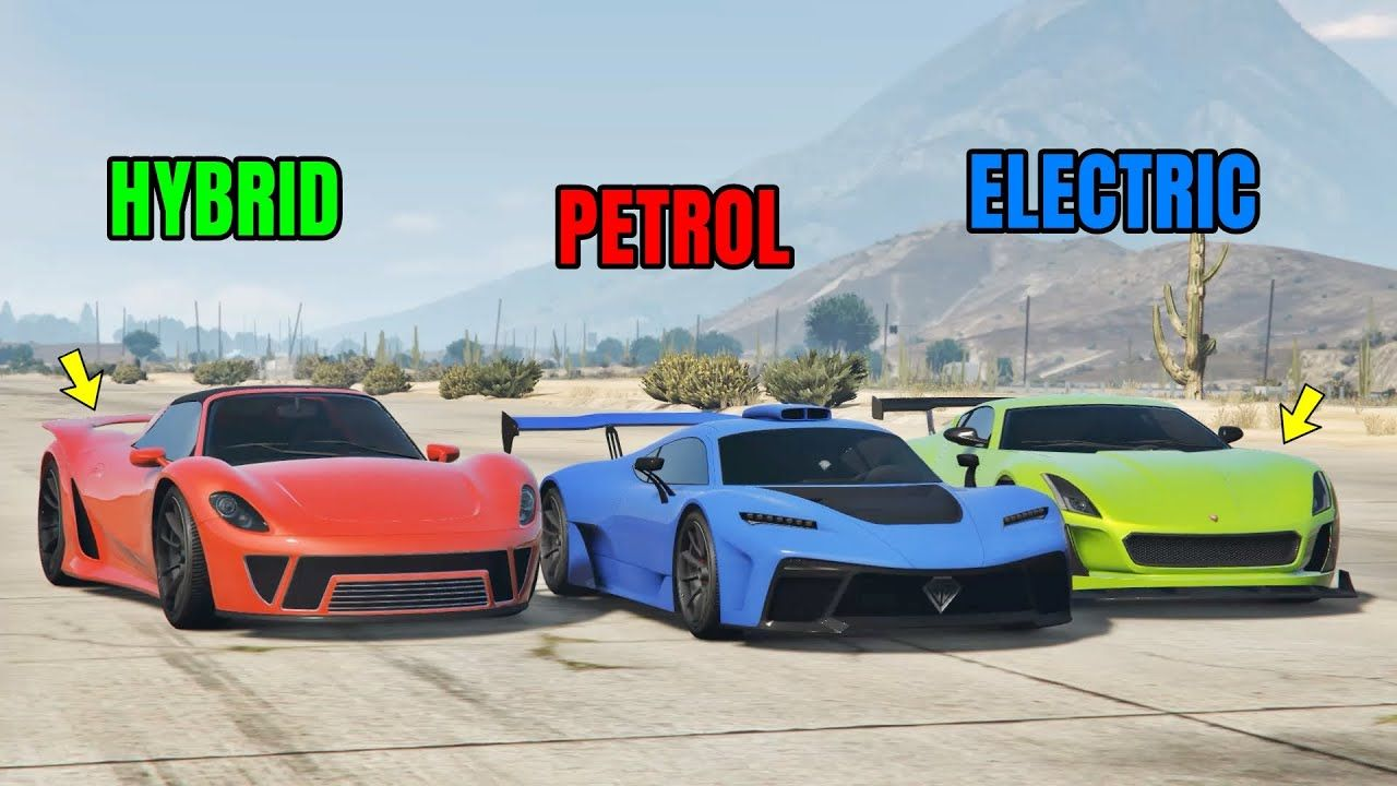 GTA 5 Online PETROL VS HYBRID VS ELECTRIC (WHICH IS