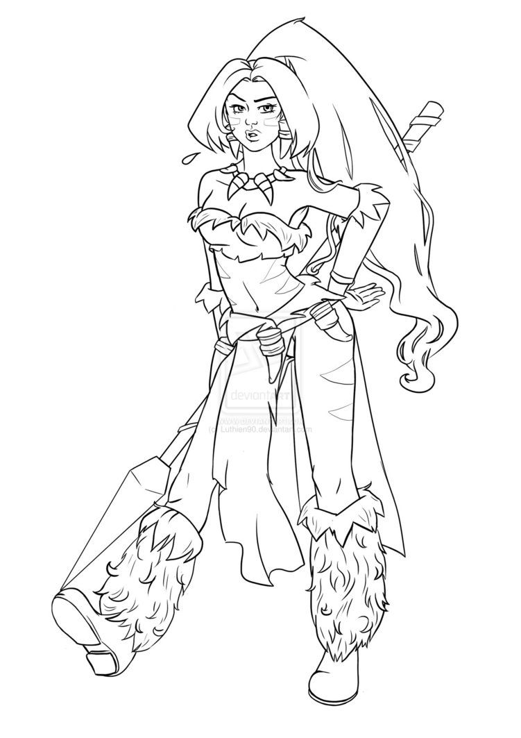 sorceress coloring pages lux color disegni da colorare