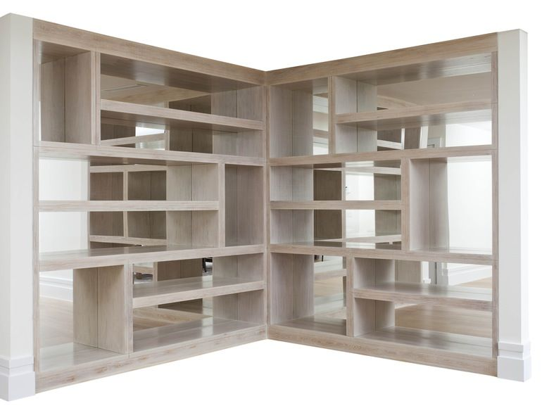 Oceana Bookshelves Contemporary Transitional Bookcases