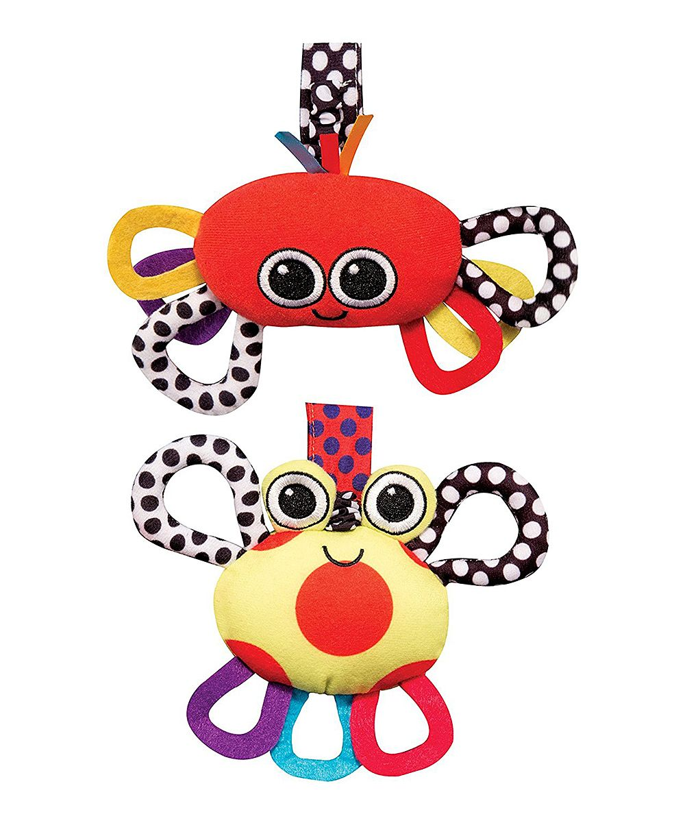 Crab Chime & Lobster Jitter Toy Set