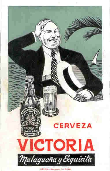 Cerveza Victoria Malaga Malaguena Y Exquisita Carteles