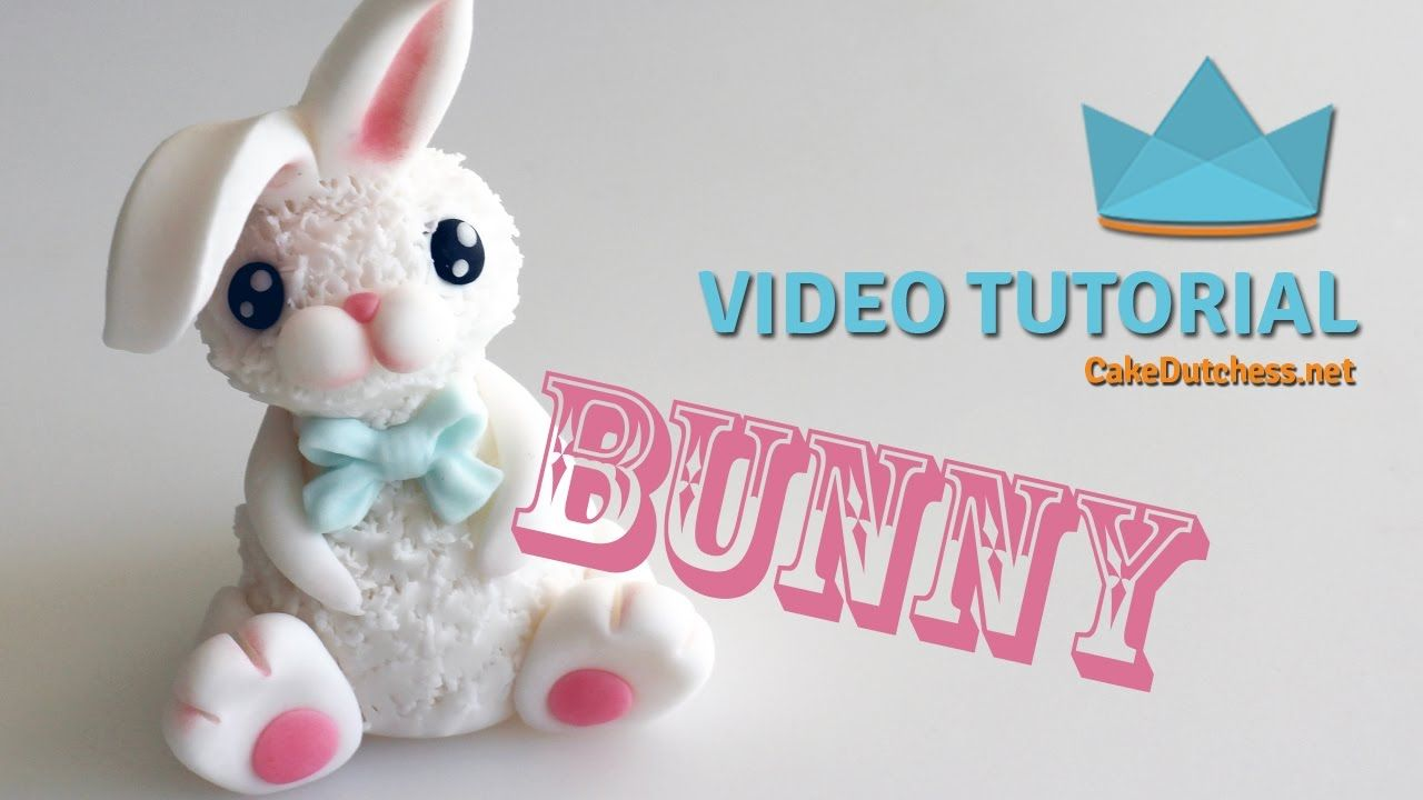 How To Make A Cute Bunny Cake Topper Tutorial