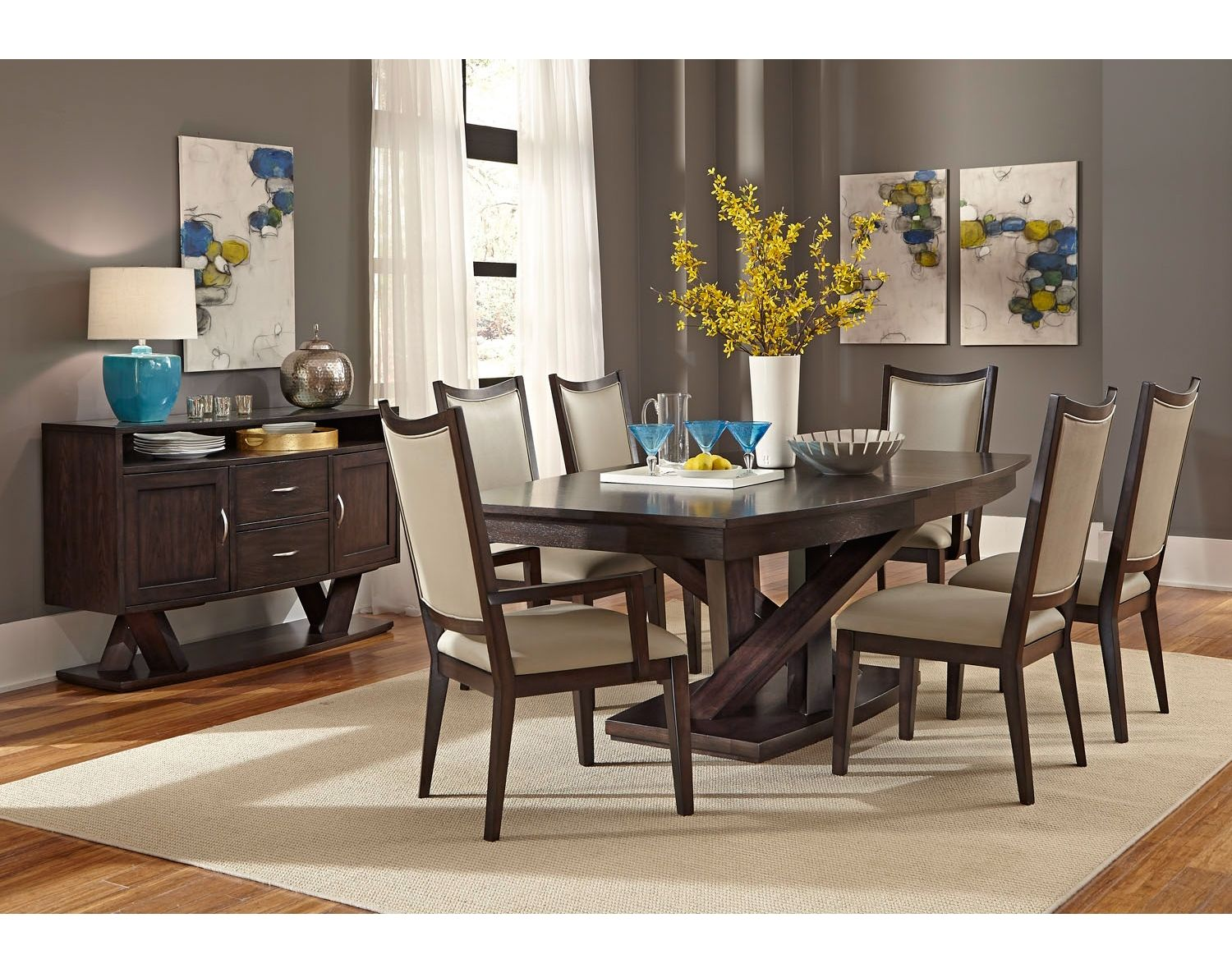 Addison Dining Room Collection Leon S Dining Room Contemporary