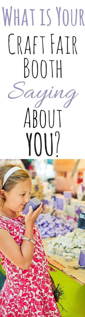 What Your Craft Fair Booth Says About Your Handmade Business #craftsaleitems