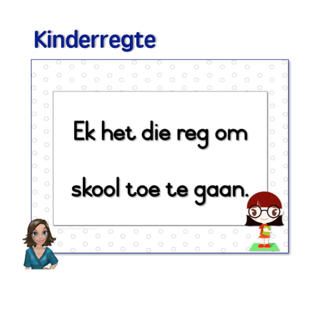 Kinderregte S Teachingresources Product Regte