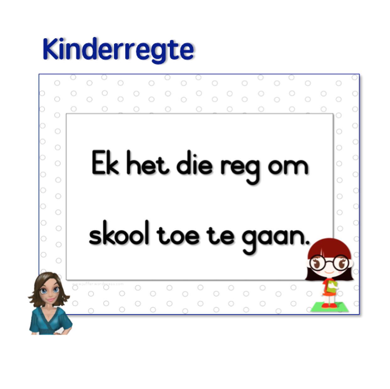 Kinderregte S Teachingresources Product Regte