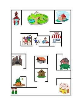 Following+Directions+Color+Pathway+Maze+Reading+Comprehension+Emergent+Reader+Printable.+Critical+Thinking+Skills.+Life+Skills.+2+pages.