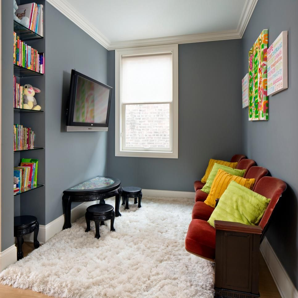Small Children S Room Ideas: 45 Small-Space Kids' Playroom Design Ideas