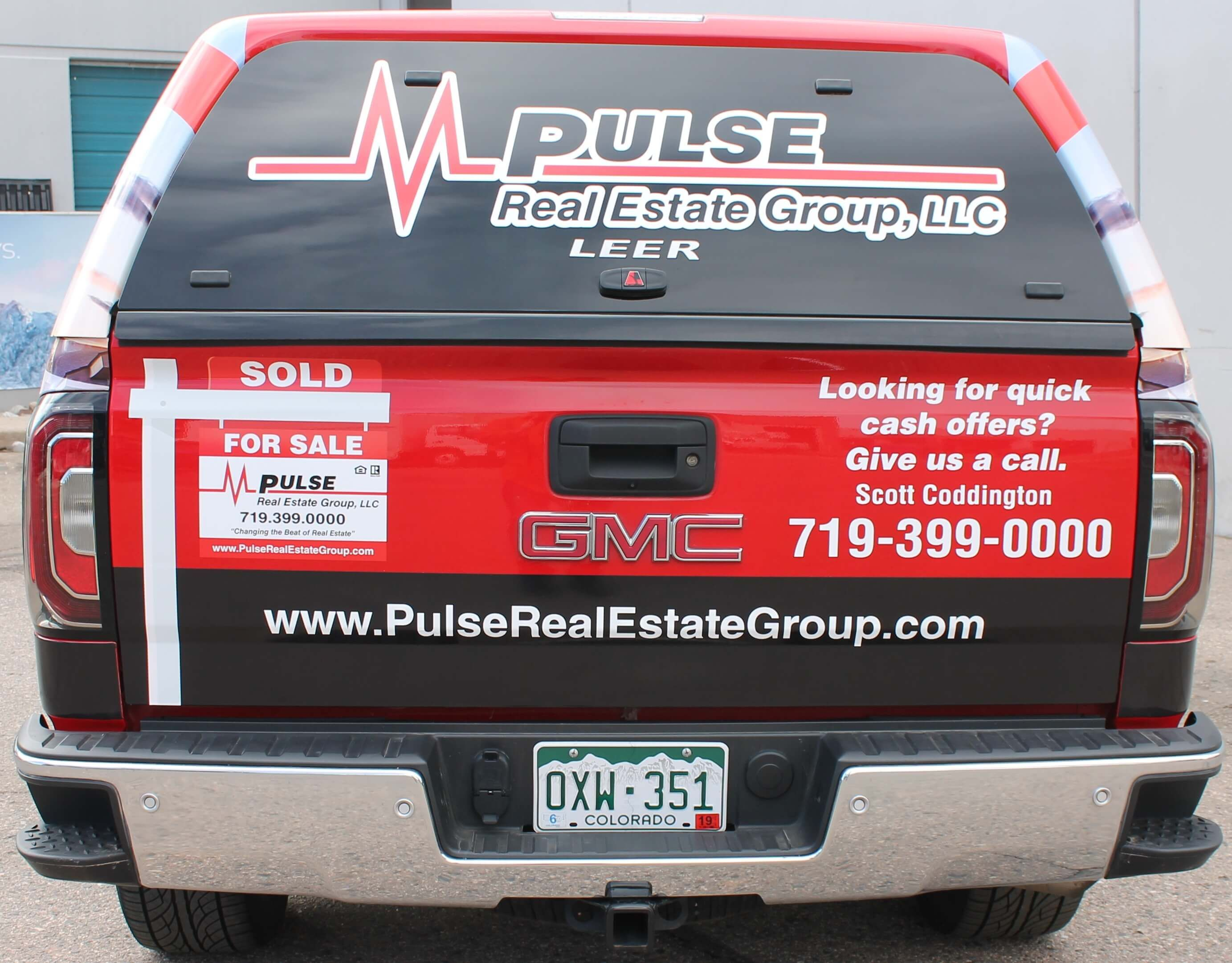 Pulse Realty Had Www Speedpro Com Denver Design Print And Install