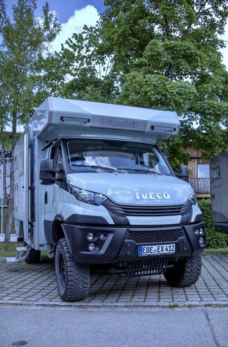 Bimobil Ex 412 Iveco 4x4 Allrad Wohnmobil Auto Camping