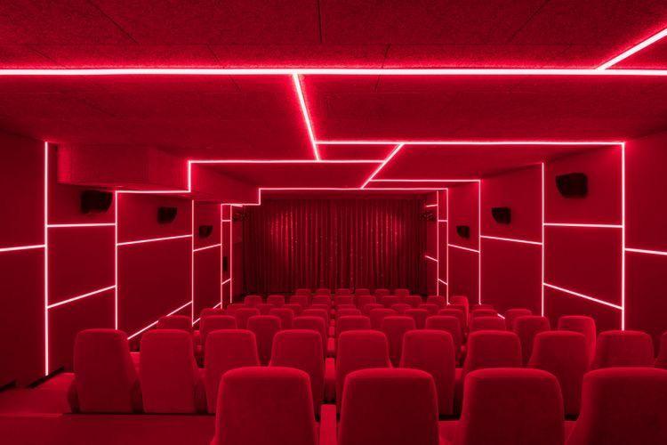 Exhibition Design Cinema Design Home Theater Setup Cinema Room