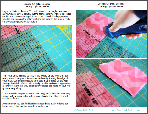 Learn To Sew Series Part 2 The Ebook Sewing Lessons Crafts And