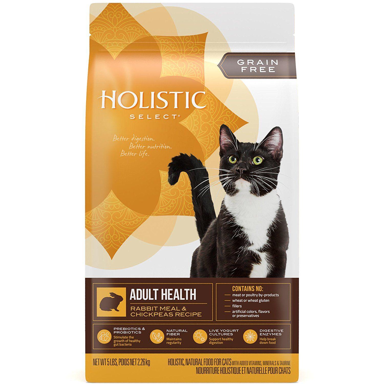Holistic Select Natural Pet Food 39220 Grain Free Dry Cat