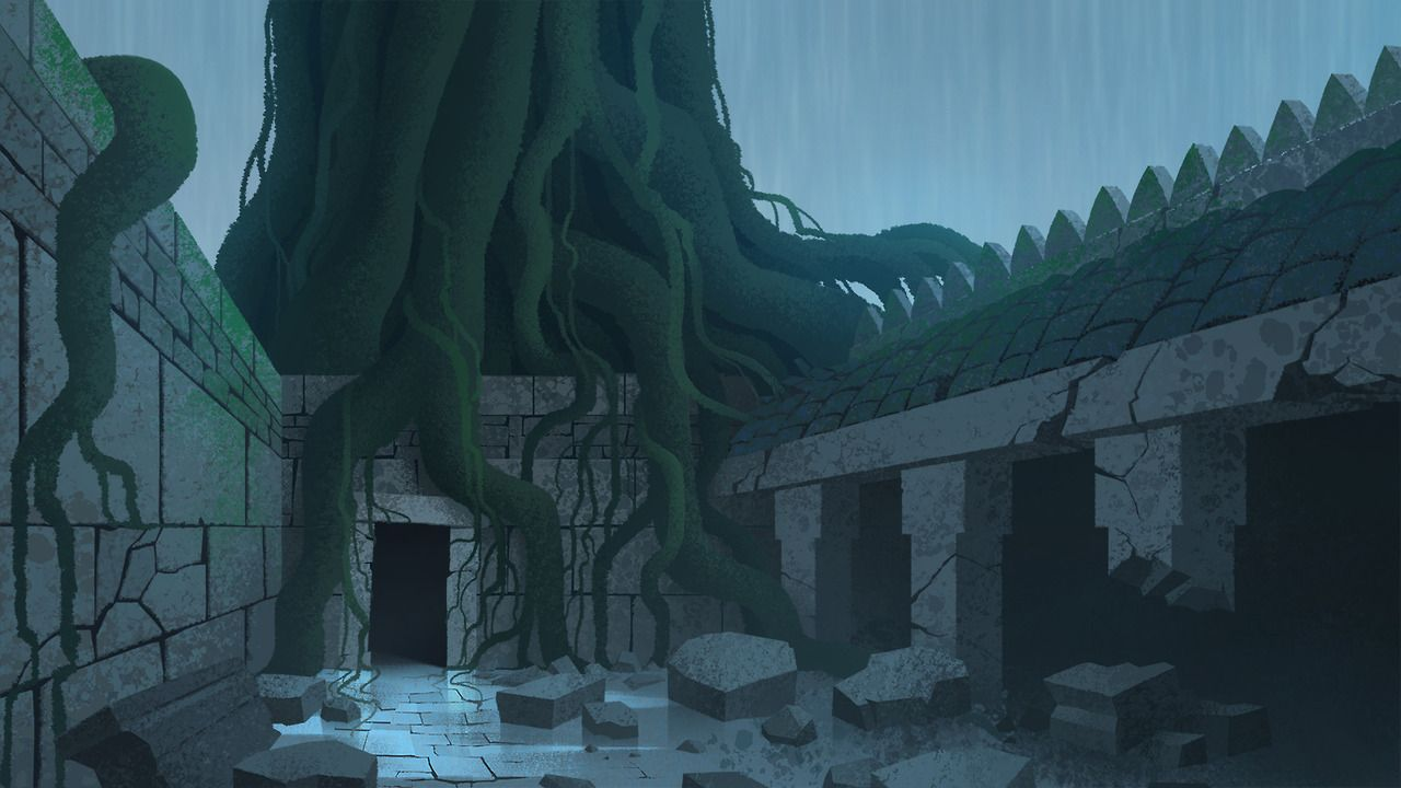 Animation Backgrounds painted by Scott Wills Samurai Jack ...