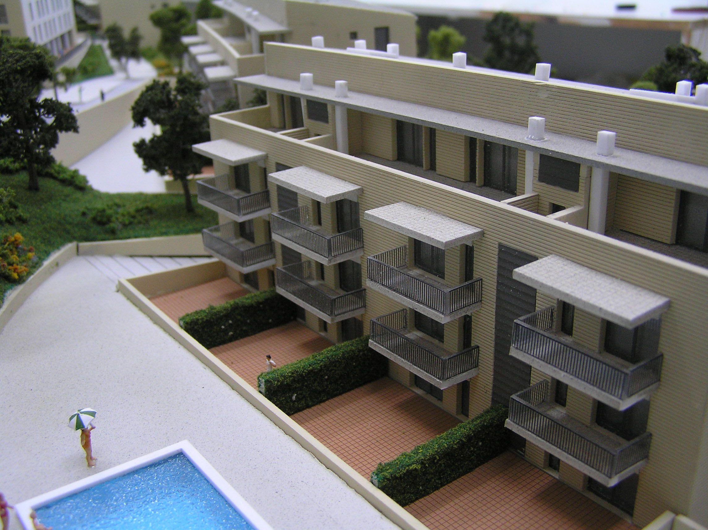 Maqueta inmobiliaria 32 arte escala especializada en Impresion 3d construccion