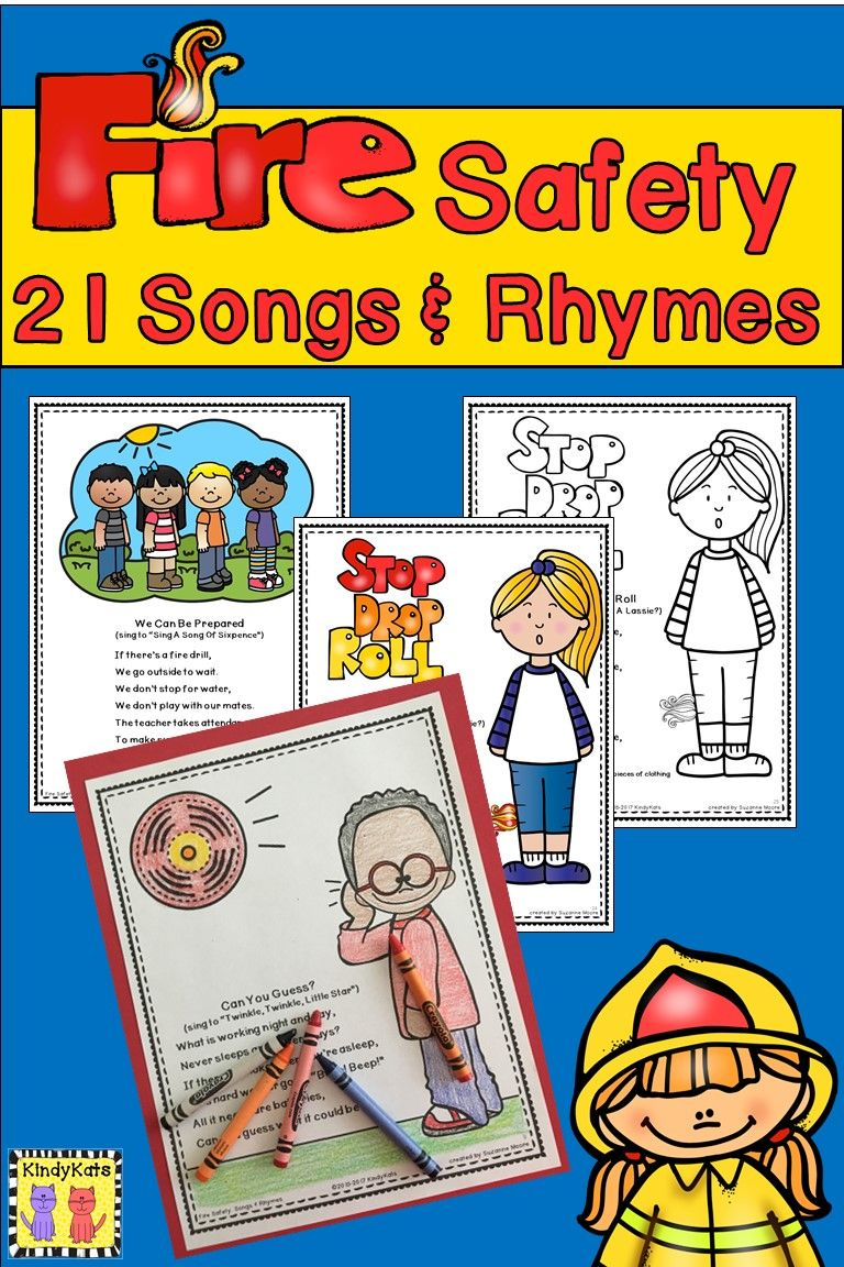 fire safety songs rhymes