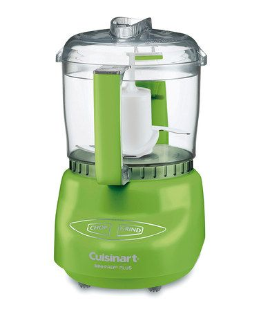 $34.99 on sale ~  Lime Green Mini-Prep Plus Food Processor by Cuisinart