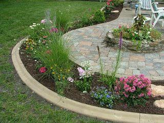 Image Result For Planting Around A Concrete Patio 400 x 300