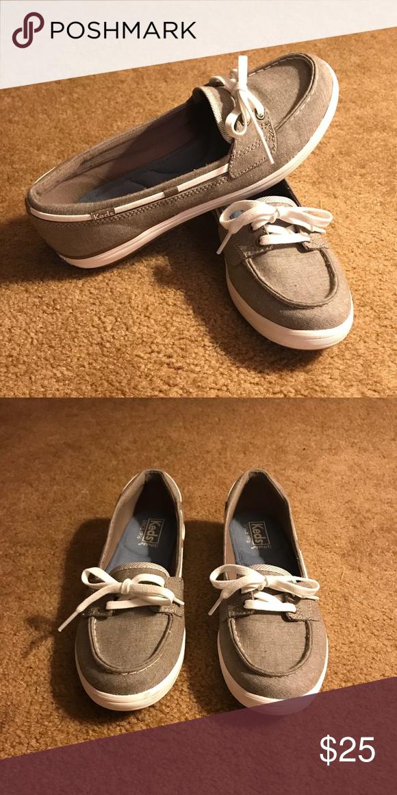 Women's size 7 Keds Glimmer Boat Shoe