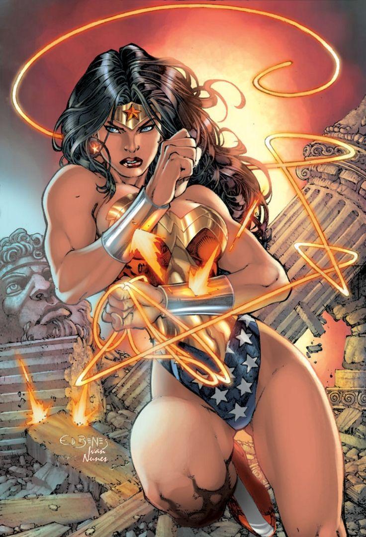 Wonder Woman - Ed Benes, Colors: Ivan Nunes | Wonder woman ...