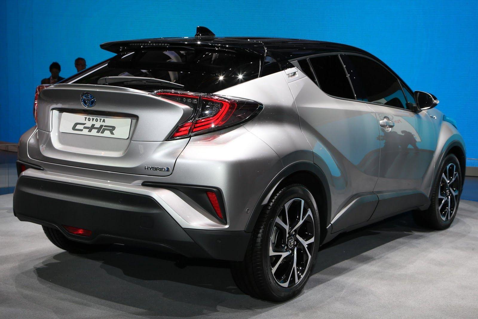 New Toyota C Hr Gets 1 2l Turbo 2 0l And 1 8l Hybrid Powertrains