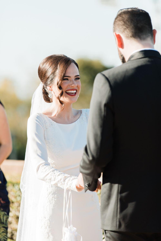 Sunshine Coast Wedding Guide Brunette Bride Bridal Makeup Red