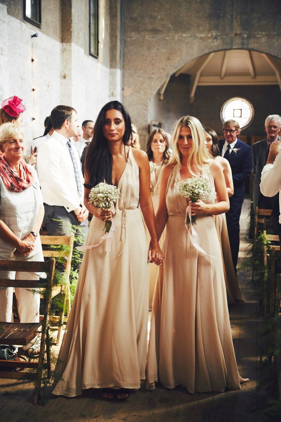 Two dresses two suits and two ceremonies for a enchanting london