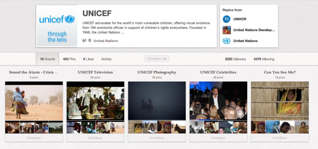 La fiebre de Pinterest llega tambien a las ONGs via @apiscookies