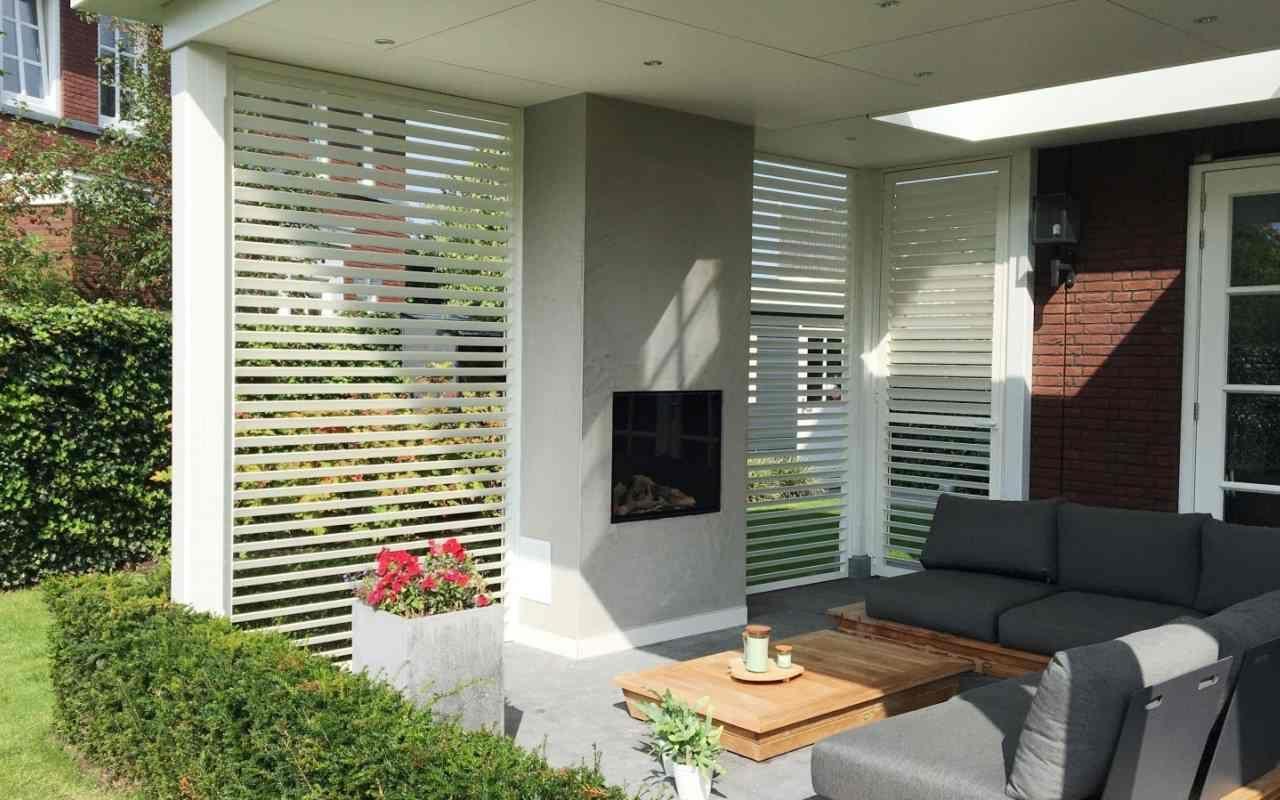 Aluminium buitenshutters styleshutters outdoor shutters