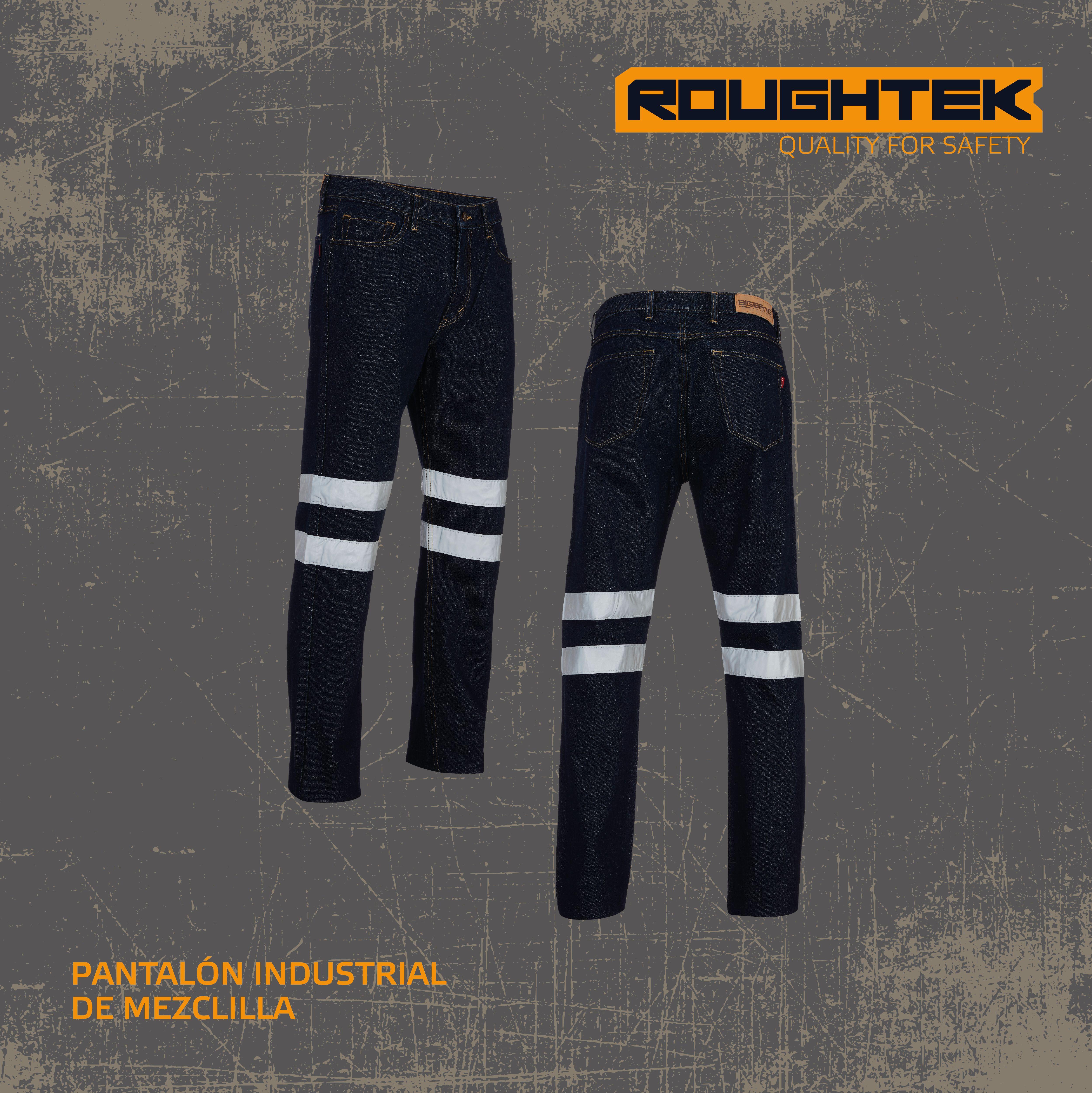 Pantalon Reflectivo Uniforme Industrial Uniformes Industriales Pantalones Pantalones De Mezclilla