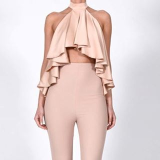 Our Must Have Lori Tops Are Ready For Delivery IN STOCK! On Our Website With 50% Off Now! www.thedollshousefashion.com was £120 X #thedollshousefashion #madeinstore #love #nude #nudesatin #summer