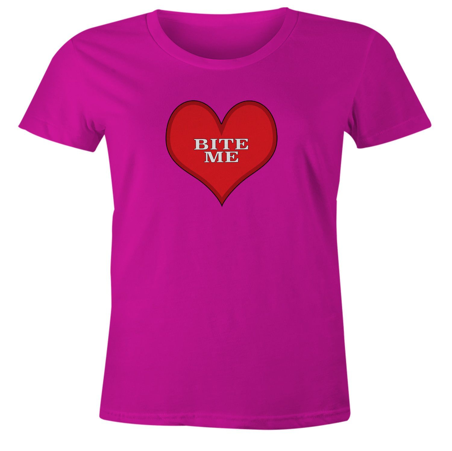 anti valentines day candy bite me t shirt - Anti Valentines Day Shirts