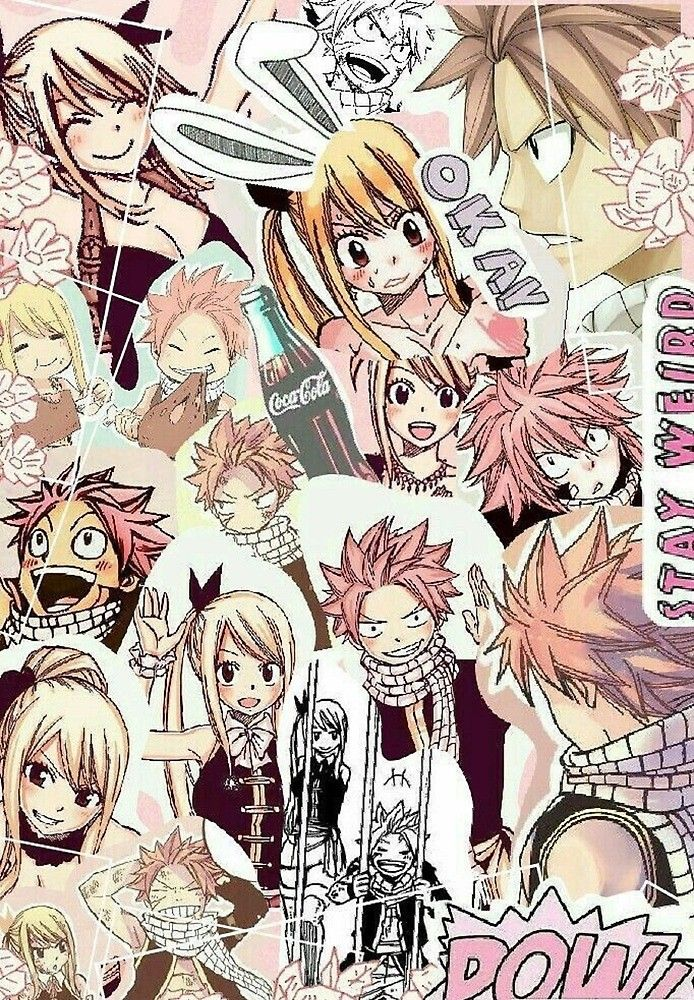 'NaLu collage' by Debneel