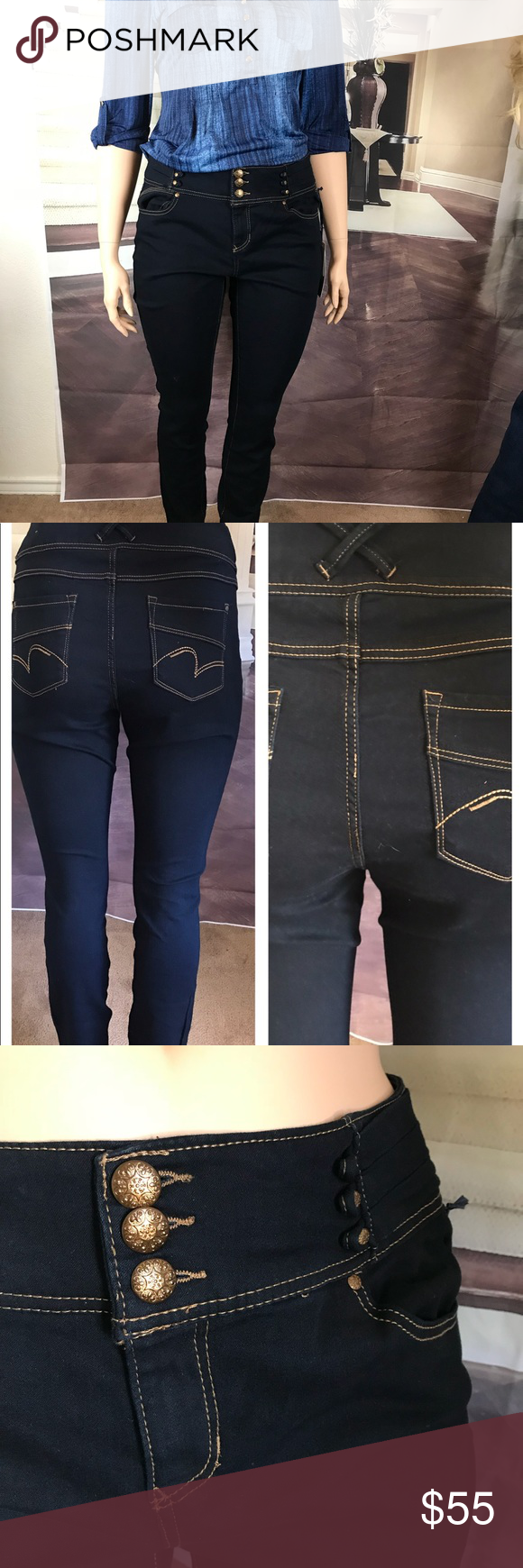 529a69f6239d0d Shop Women's indigo Fusion Blue size 18 Skinny at a discounted price at  Poshmark. Description: These brand new with tags Jeans have 4  pockets-inseam is 29 ...