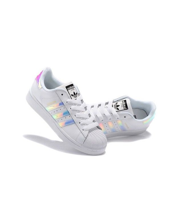 adidas superstar women rainbow