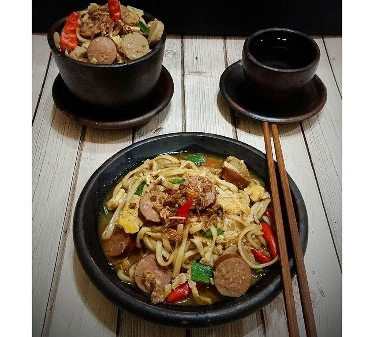 Resep Mie Nyemek Pedas Resep Masakan Resep Masakan Indonesia Resep