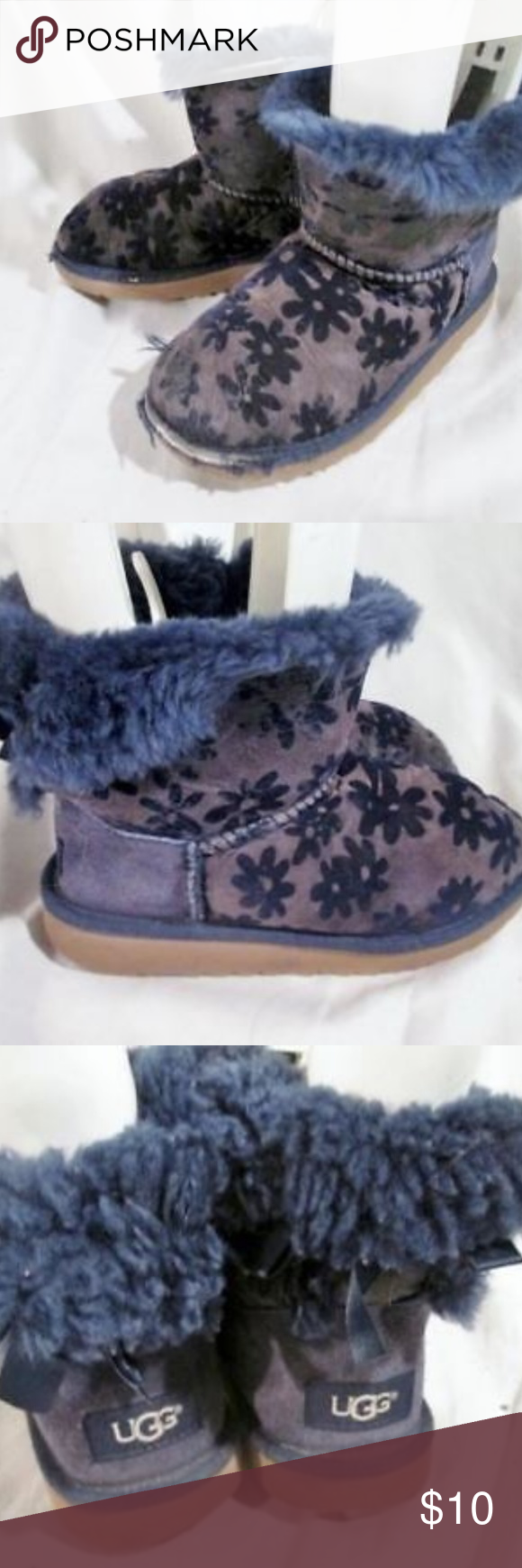 30f1f12041a UGG 1016234K MINI BAILEY BOW FLOWERS Boot Awesome pair of toddler ...