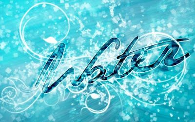 colorful water text tutorial - Google Search