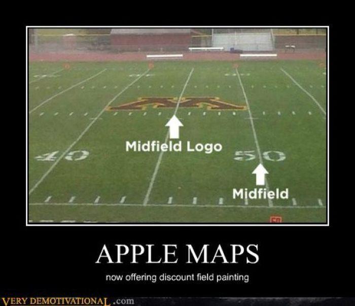 Apple, don't follow their maps.