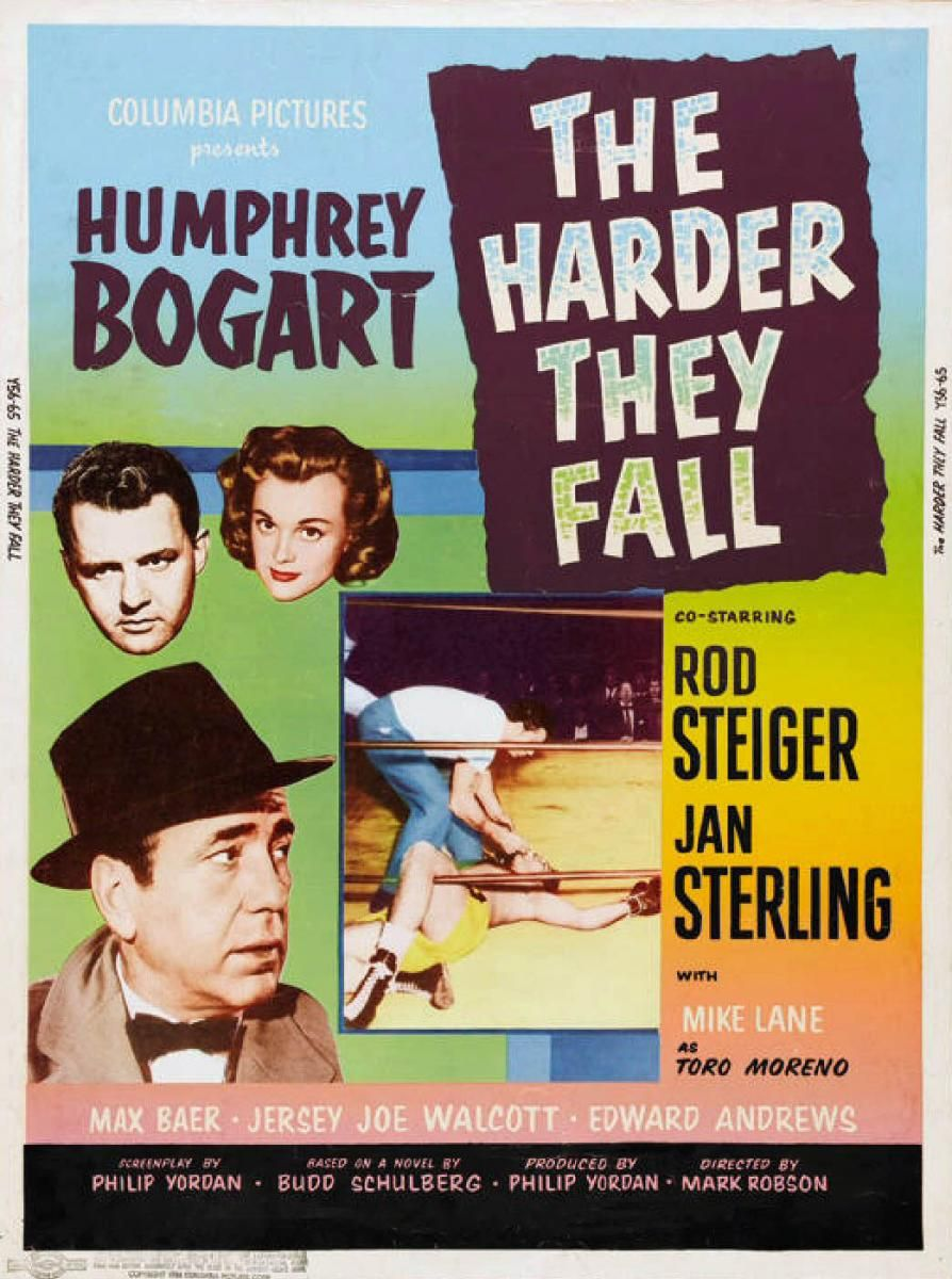 The Harder They Fall 1956 Movie Posters Full Movies Online