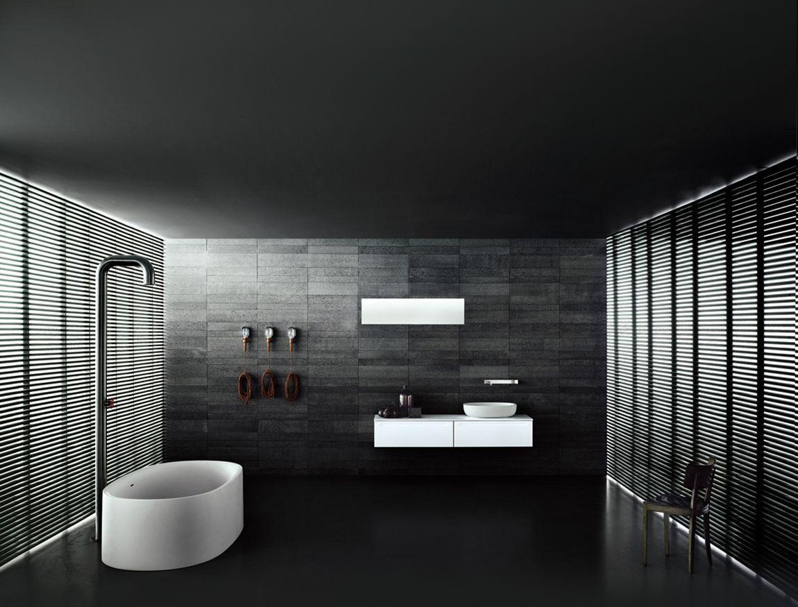 badezimmer modern freistehende badewanne - boffi universal
