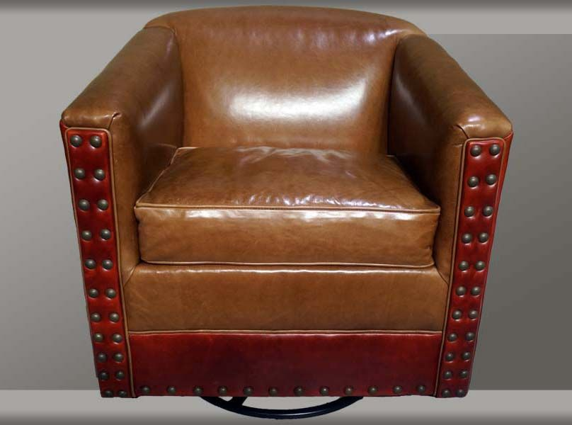 Best Modern Leather Swivel Glider Accent Chairs Chair 400 x 300