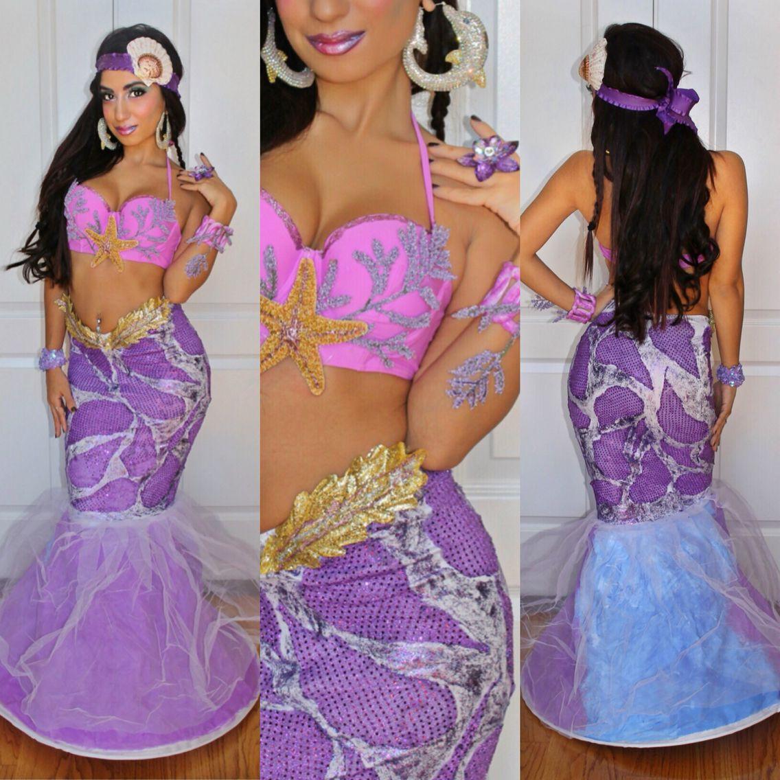 Unique one of a kind custom made Mermaid costume - DIY ...