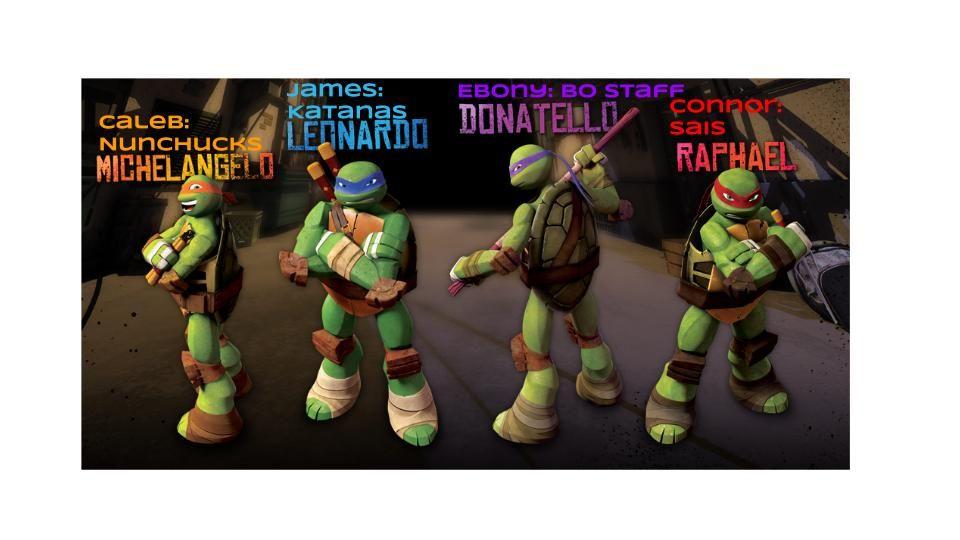 Who S Who Teenage Mutant Ninja Turtles Toy Teenage Mutant Ninja Turtles Artwork Ninja Turtles Names