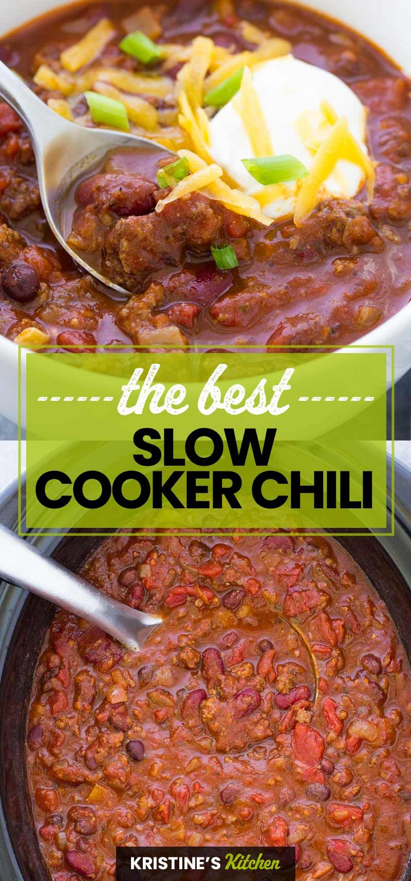 Slow Cooker Beef Chili In 2020 Slow Cooker Chili Slow Cooker Chili Recipe Slow Cooker Chili Easy