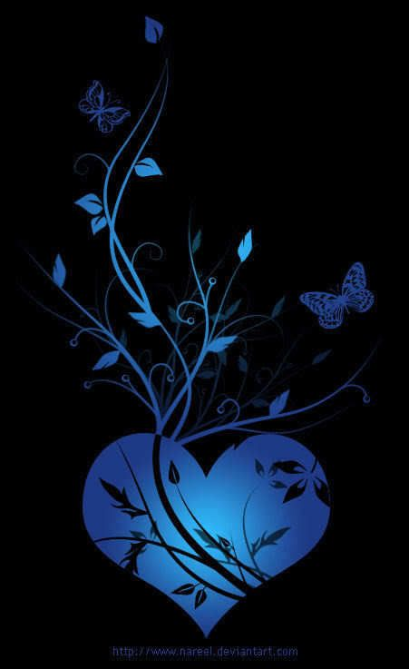 Pin By Cheri Berg Sletten On Hearts Heart Artwork Heart Wallpaper Blue Heart